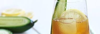 Pimm's Champagne Cocktail
